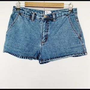 Calvin Klein Junior Denim Jean Shorts Medium Wash
